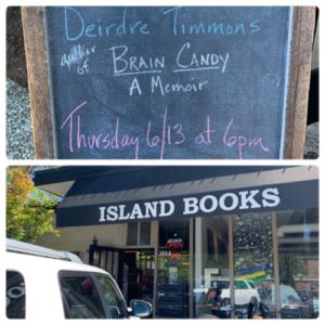 Island Books Reading Photo